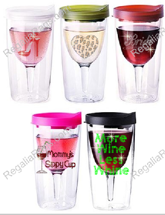 Rhinestone Wine To Go Cup Customize Your Own Rhinestone